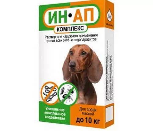 ин ап для собак до 10 кг